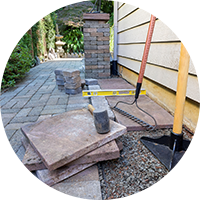 Stone Pavers and Tiles